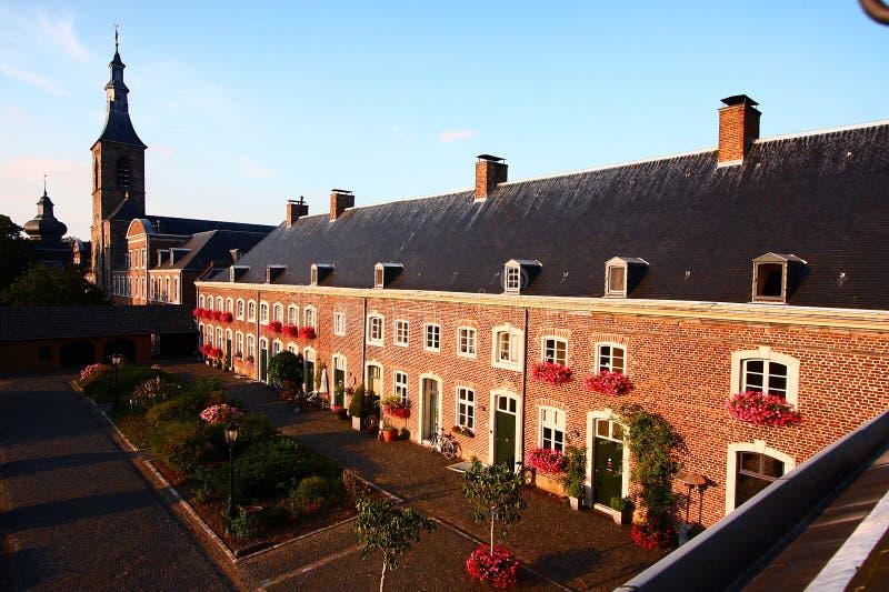 Монастырь Rolduc, Kerkrade, Нидерланды стоковая фотография rf