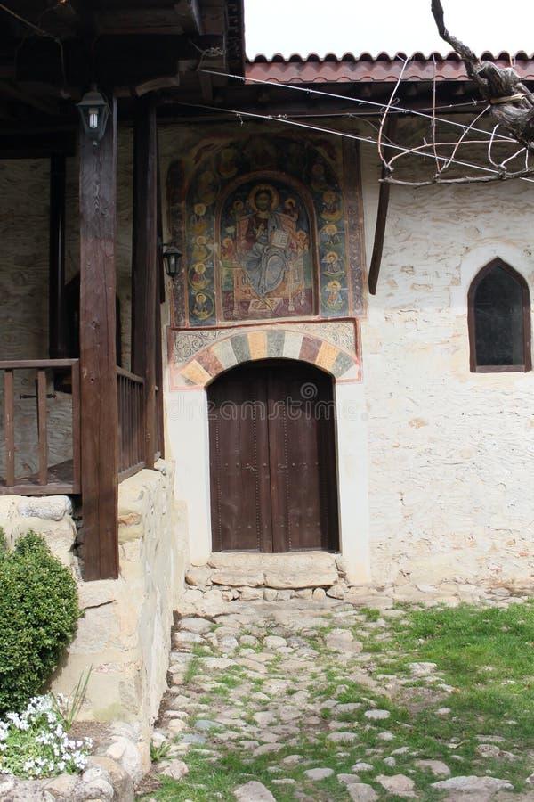 Монастырь Rozhen стоковое фото rf
