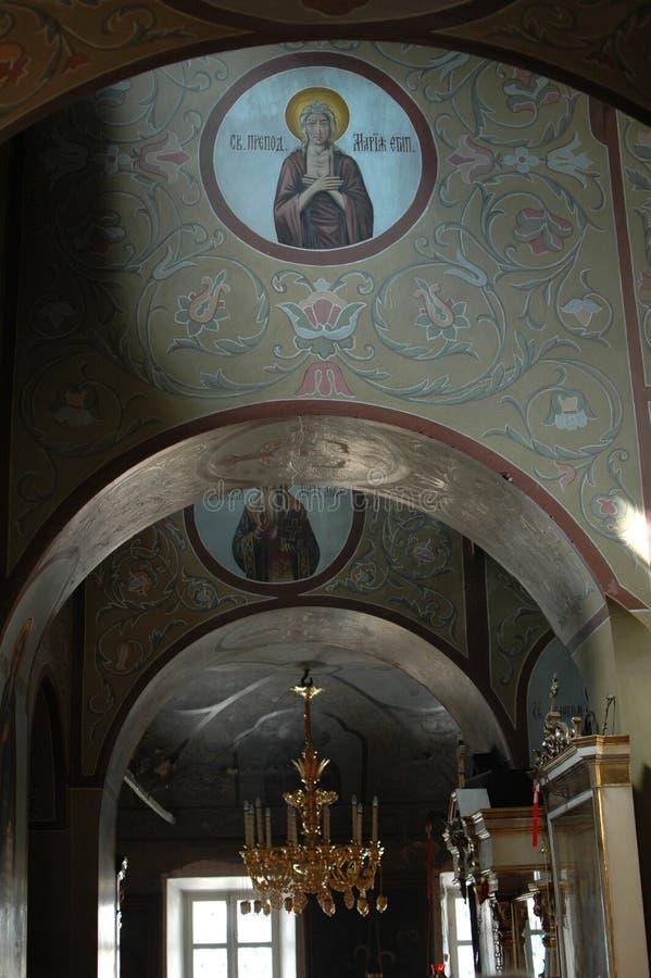 Монастырь Sergiev Posad стоковые изображения