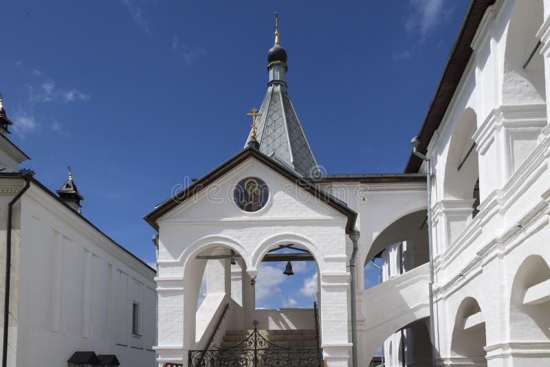 Монастырь Serpukhov Vysotsky стоковые изображения rf