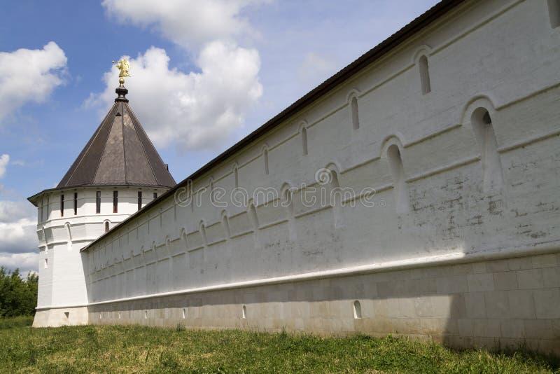 Монастырь Serpukhov Vysotsky стоковое фото rf
