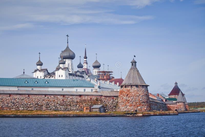 Монастырь Solovetsky стоковая фотография rf