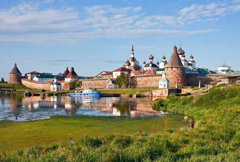 Монастырь Solovetsky стоковое фото rf