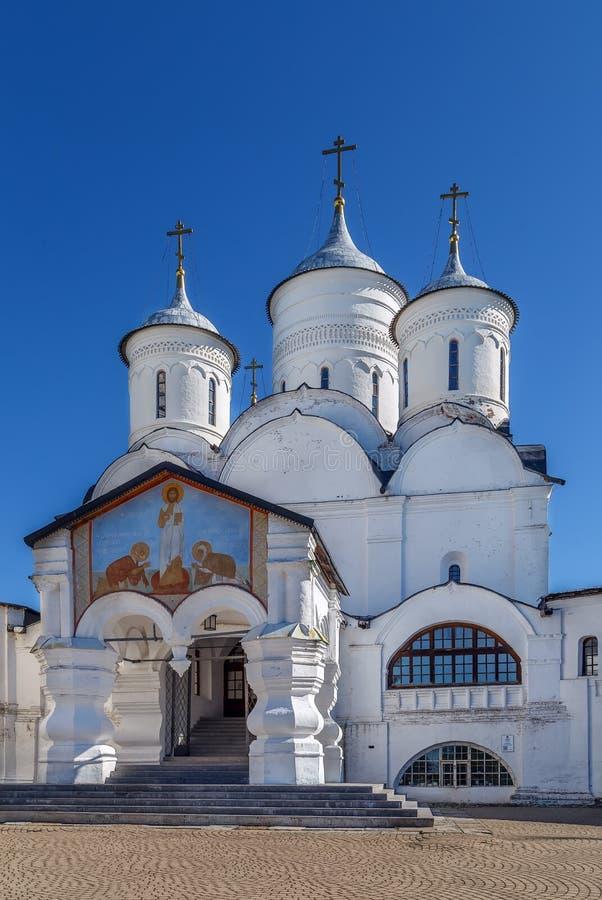 Монастырь Spaso-Prilutsky, Vologda, Россия стоковые изображения rf