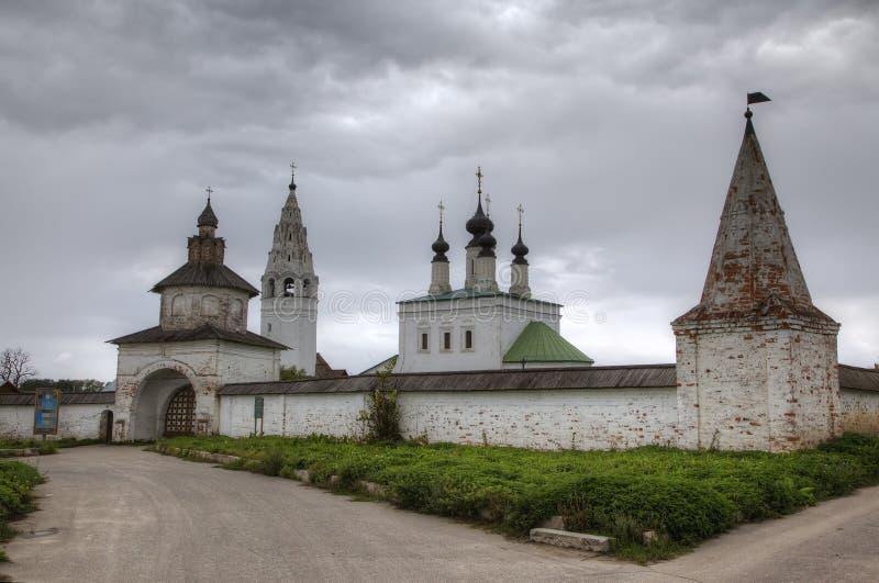 Монастырь St Александра Nevsky Suzdal стоковые фотографии rf
