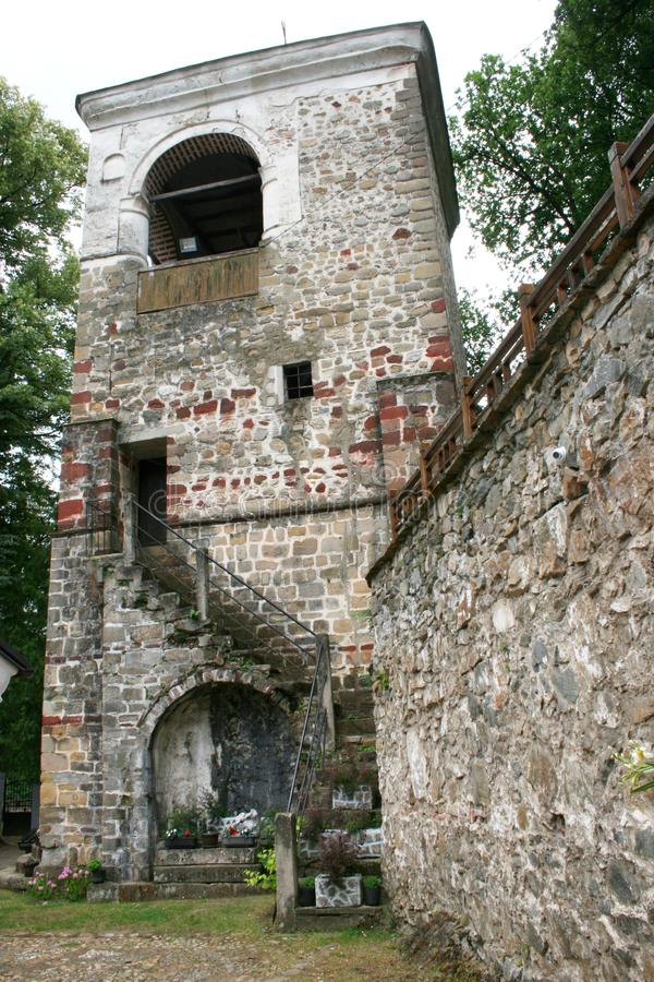 Монастырь St римский правоверный стоковое фото rf