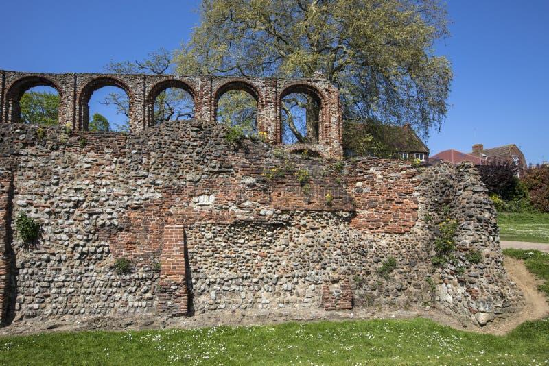 Монастырь St Botolphs в Colchester стоковое фото
