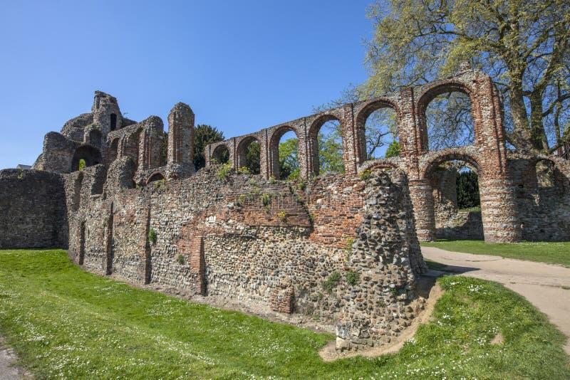Монастырь St Botolphs в Colchester стоковые изображения