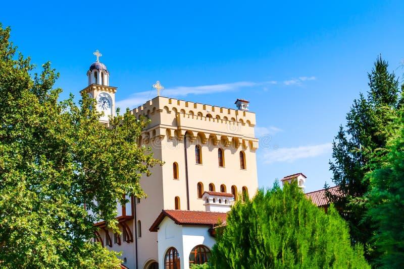 Монастырь St. George в Hadjidimovo, Болгарии стоковое изображение