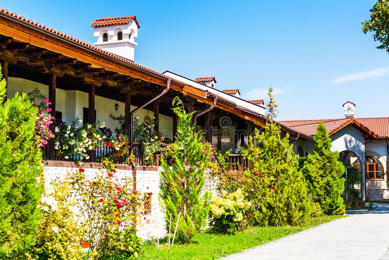 Монастырь St. George в Hadjidimovo, Болгарии стоковые фото