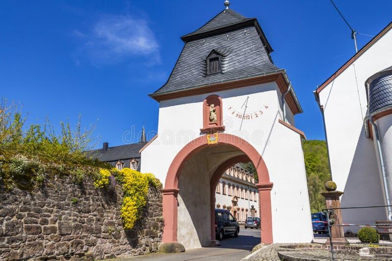 Монастырь St. Thomas на Sankt Томас, Германии стоковые фото