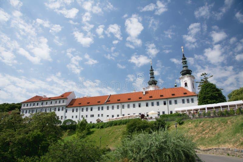 Монастырь Strahov около замка Праги, чехии стоковые изображения