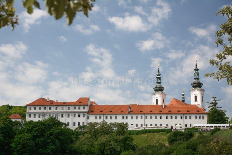 Монастырь Strahov около замка Праги, чехии стоковые фото