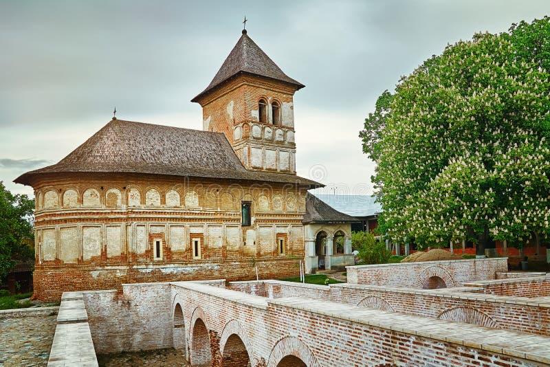 Монастырь Strehaia, Румыния стоковое изображение rf