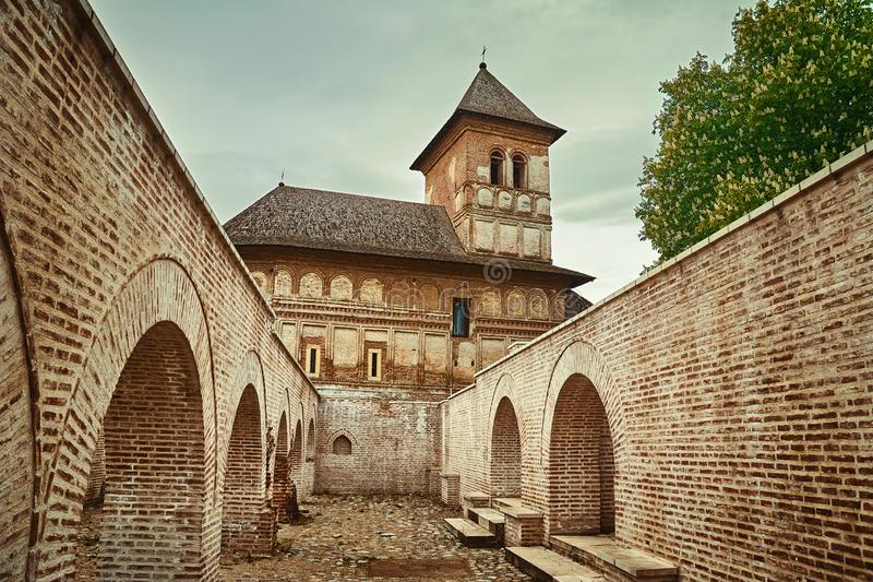 Монастырь Strehaia, Румыния стоковая фотография