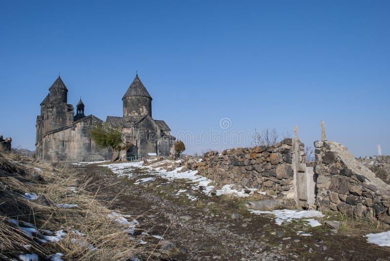 Монастырь Tegher стоковые фото