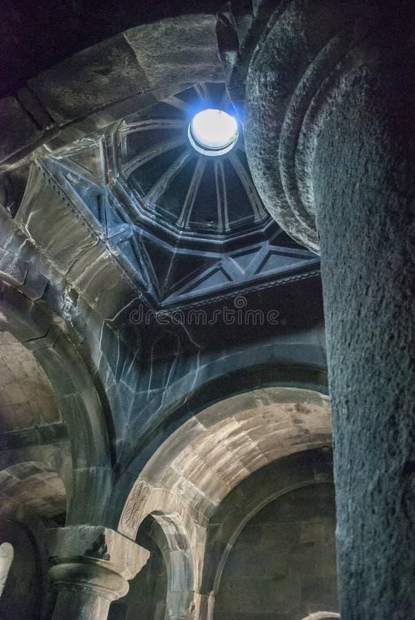 Монастырь Tegher стоковая фотография