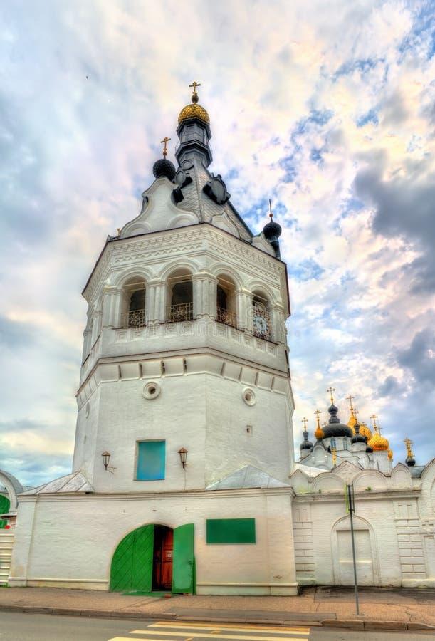 Монастырь Theophany St Анастасии в Kostroma, России стоковое изображение rf