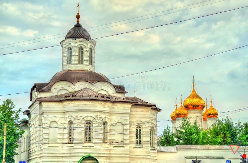 Монастырь Theophany St Анастасии в Kostroma, России стоковое изображение