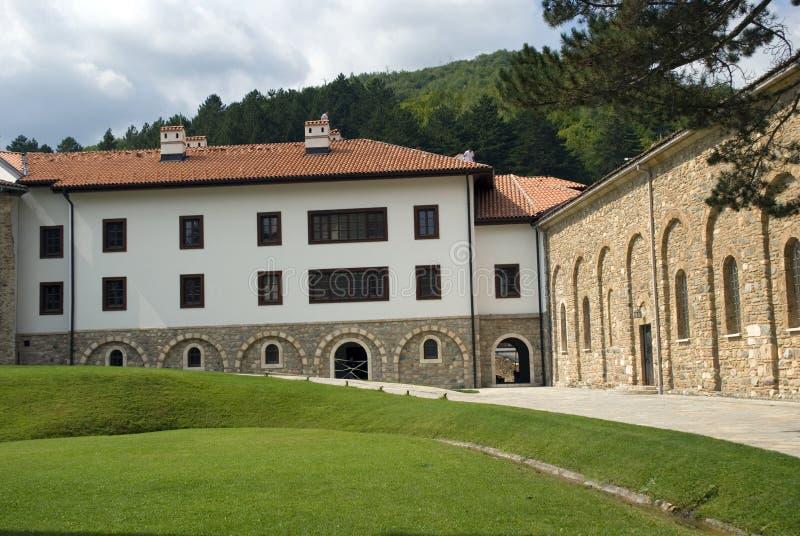 Монастырь Visoki сербский правоверный, Decani, Косово стоковые изображения