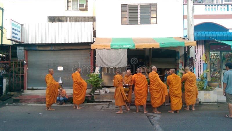 монахи стоковое фото