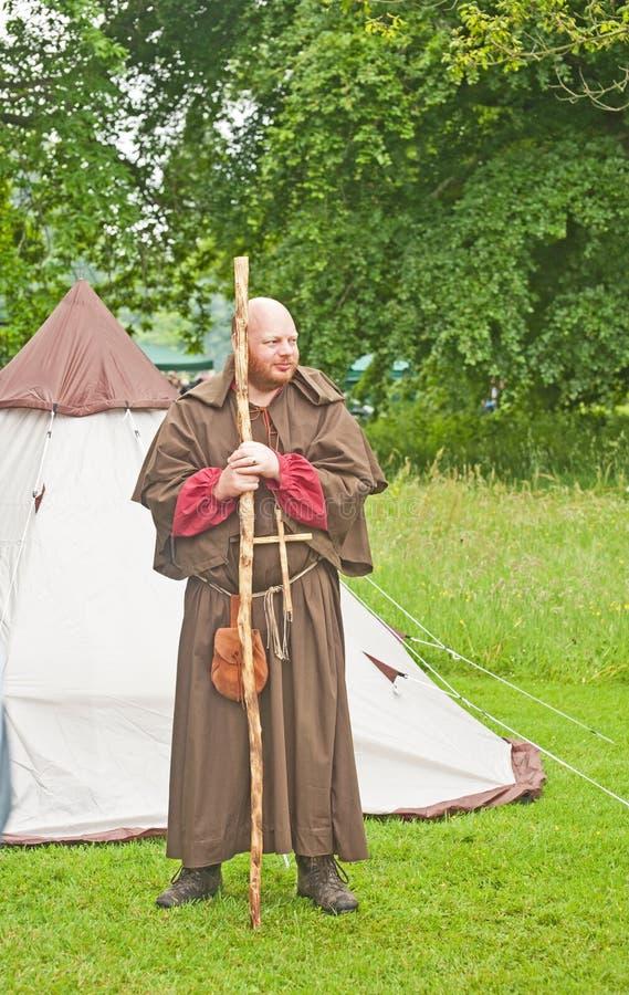 монах замока brodie средневековый стоковая фотография