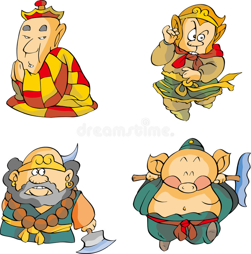 монах иллюстрация штока