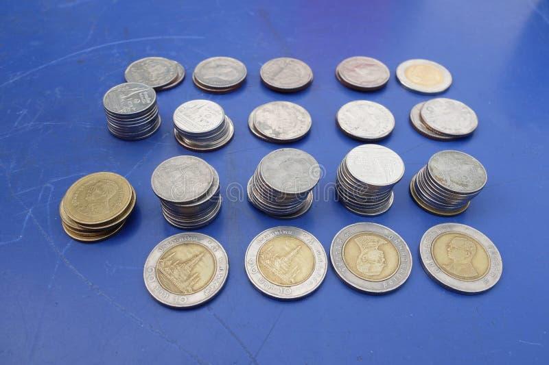монетка тайская стоковое изображение rf