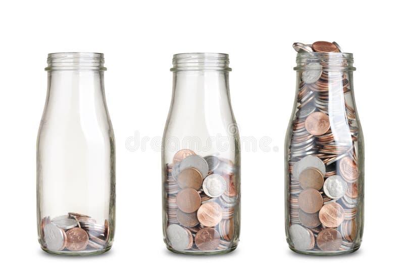 Монетки опарников стоковое фото