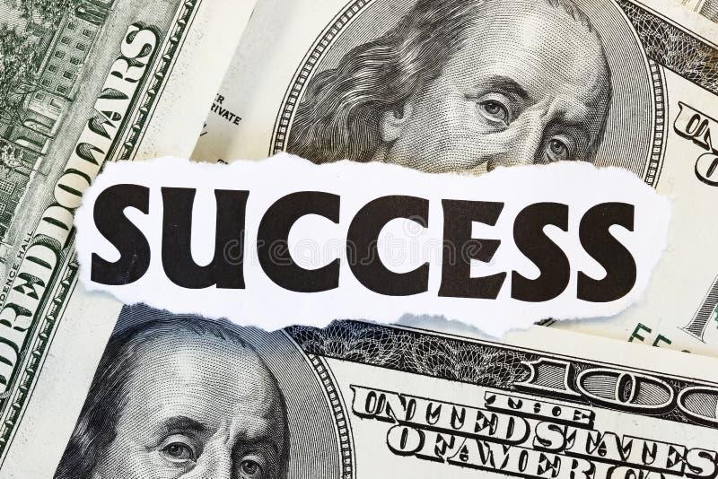 монетный успех стоковые изображения rf