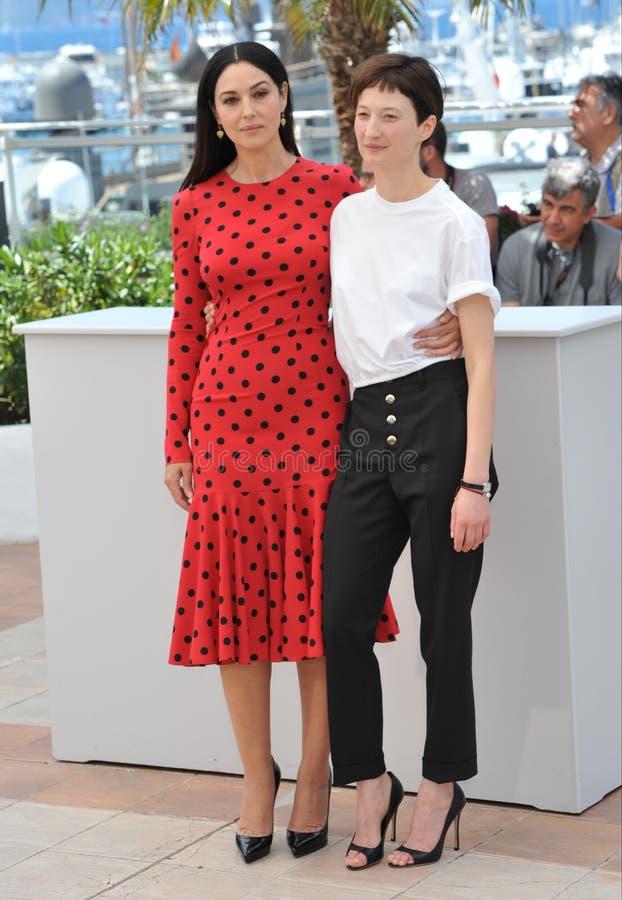 Моника Bellucci & Alba Rohrwacher стоковая фотография rf