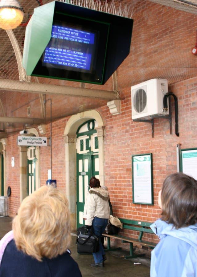монитор информации стоковое фото