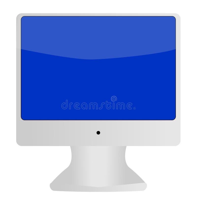 Download монитор компьютера иллюстрация вектора. иллюстрации насчитывающей макинтош - 10228916