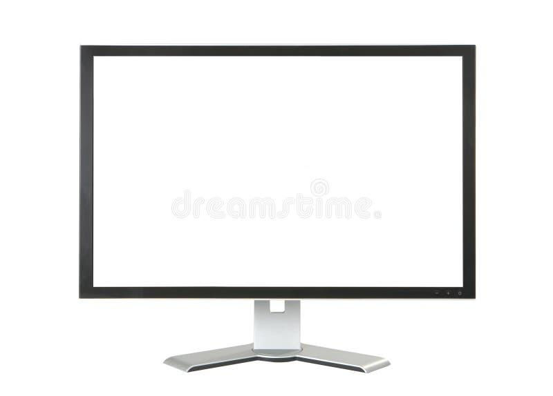 монитор компьютера стоковое изображение
