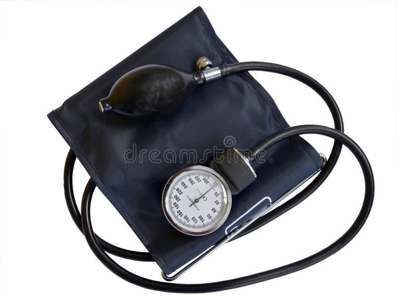 Монитор кровяного давления стоковое фото rf