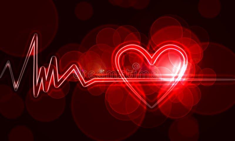 Монитор сердца иллюстрация вектора