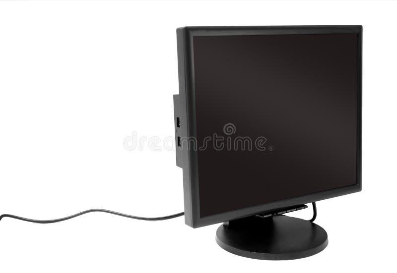 монитор стоковое изображение rf