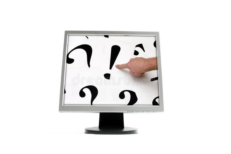 монитор стоковые изображения rf