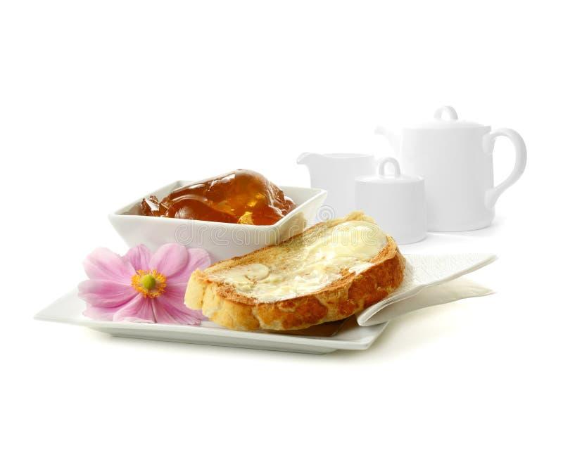 Монтаж завтрака воскресенья стоковые изображения rf