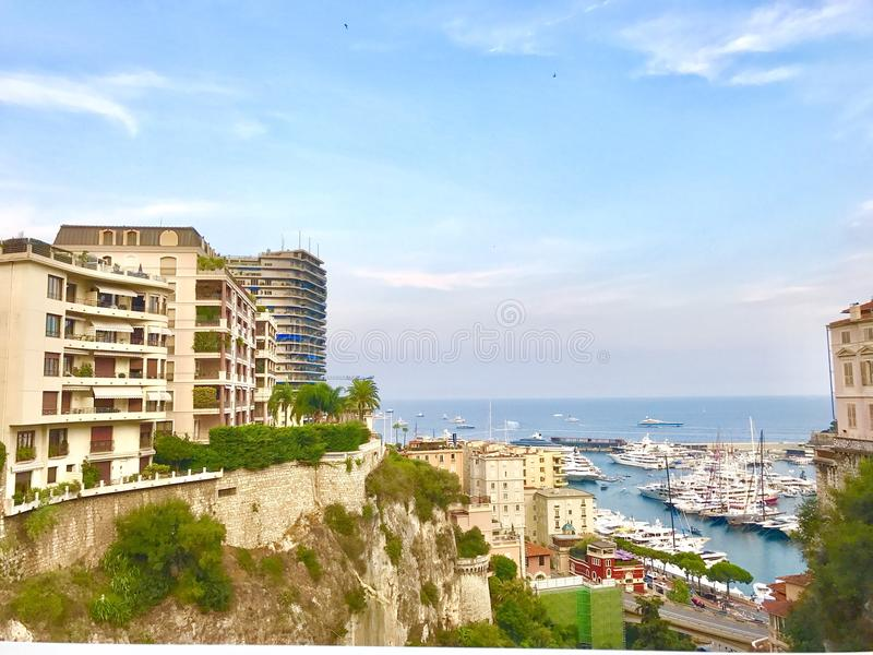 Монте-Карло Монако стоковые фотографии rf
