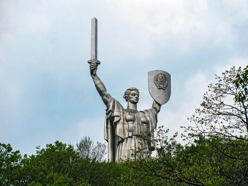 Монументальная скульптура стоковое фото rf