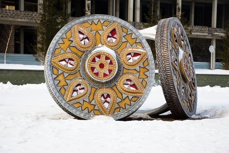монументальные кольца стоковые изображения rf