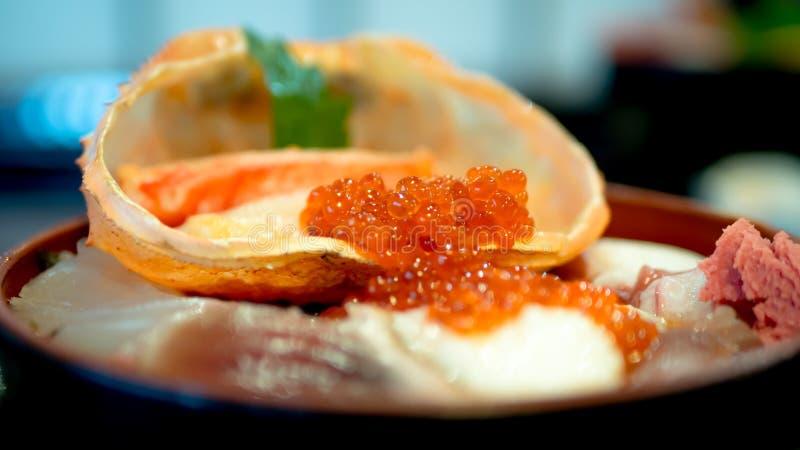 Морепродукты Япония стоковая фотография