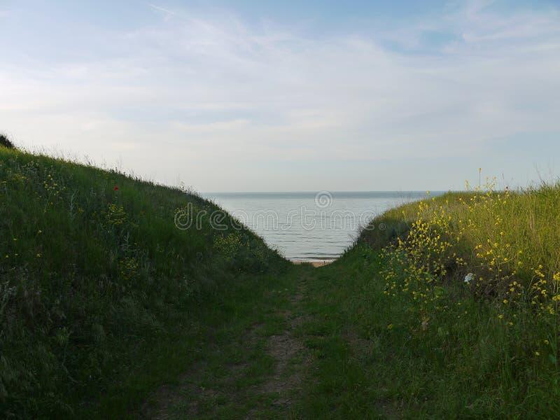 Море азов стоковое изображение
