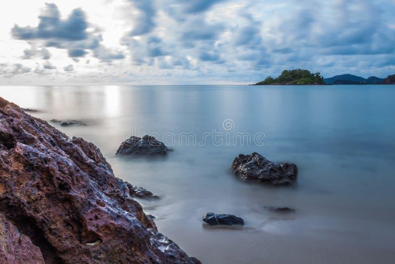 Море безмолвия стоковые фотографии rf