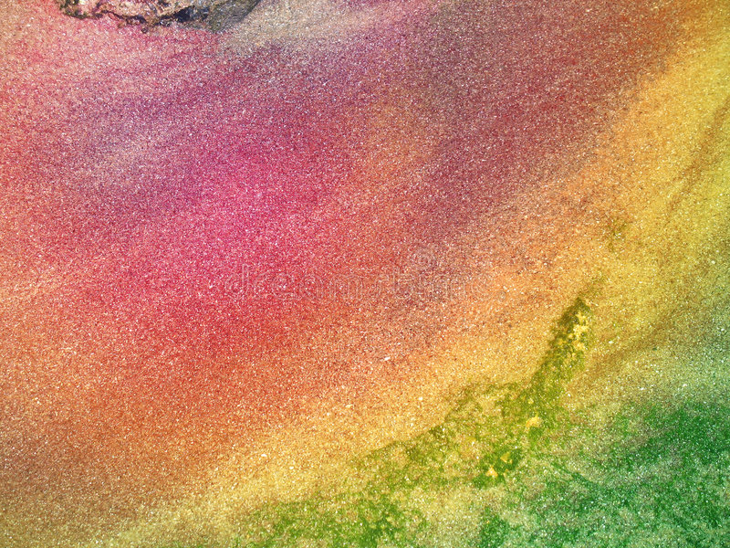 море богачей минералов стоковое фото
