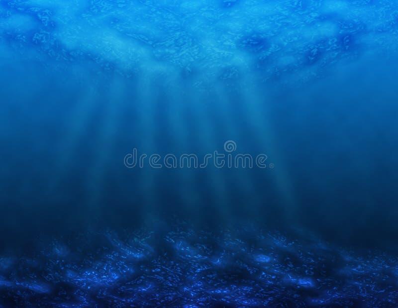 море вниз иллюстрация штока