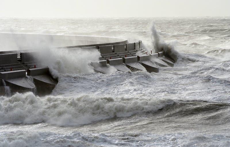 море волнореза стоковая фотография rf