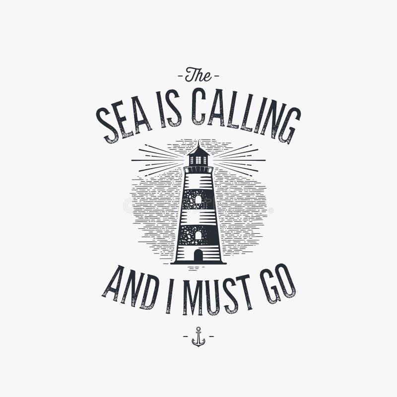 Море вызывает иллюстрация штока