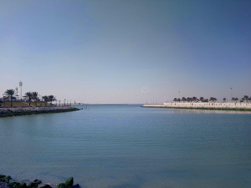 Море в пустыне стоковое фото rf